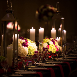table-candles-lighting