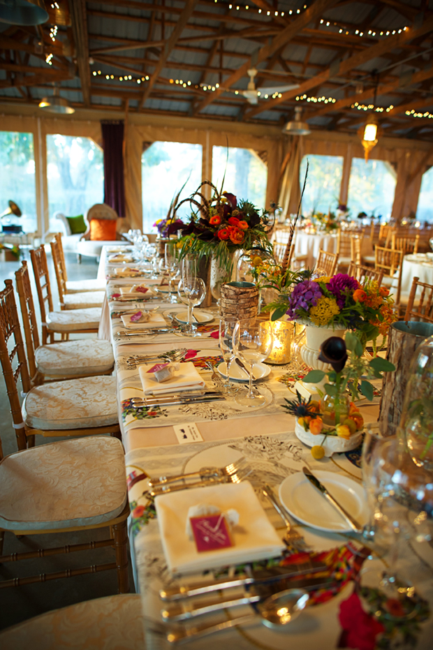 Beautiful Blooms Outdoor Vintage Eclectic Wedding At