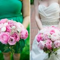 Beautiful Blooms - Blooming Spring Wedding Bouquet with Peonies Curtis Center Philadelphia