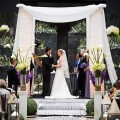 Beautiful Blooms Fabric Chuppah