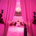 Beautiful Blooms Philadelphia - TRUST Wedding Pink Purple Modern - Dance Floor Lighting