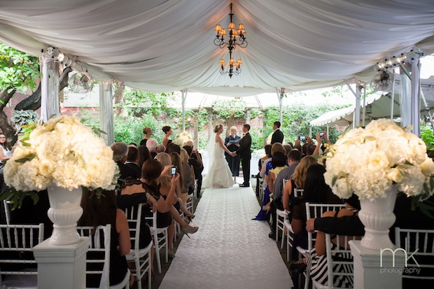 Friday Feature Indoor And Outdoor Ceremony Decor