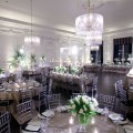 Beautiful Blooms The Down Town Club Phil Kramer Room Shot White Wedding Cescaphe Event Group Hi and Low Centrerpieces Candlelabras