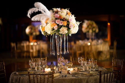 Wedding Feathers Centerpieces | Wedding Tips and Inspiration