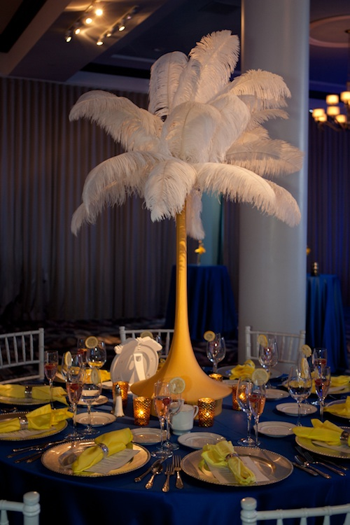 Friday Feature: Feather Centerpieces | Beautiful Blooms