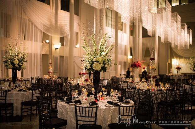 Wedding Wednesday Red White And Black Beautiful Blooms