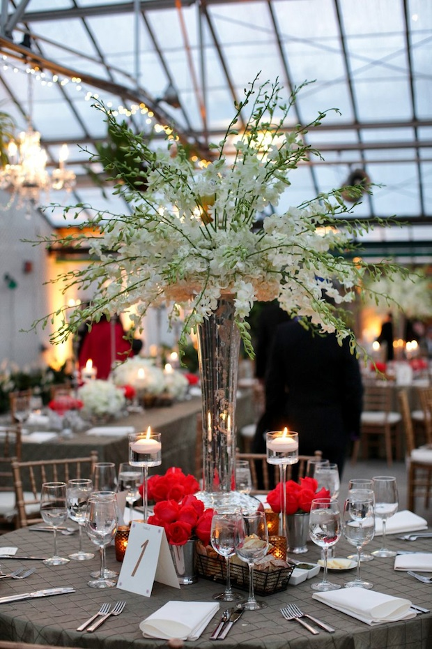 Wedding wednesday springtime white coral beautiful blooms