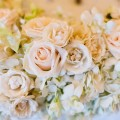 Beautiful Blooms Scott Lewis White and Ivory Flowers Roses Hydrangea Spray Roses