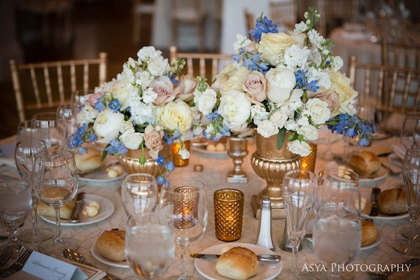 Wedding wednesday a touch of blue beautiful blooms florals junglespirit Images