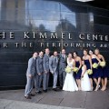 Beautiful Blooms Marie Labbancz Kimmel Center Wedding, Garces Catering, Navy, Yellow, White Wedding, Grey Suits, Dahlias, Roses, Astilbe