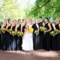 Beautiful Blooms Curtis Center Wedding Yellow Rose Bouquet Autumn Bouquets Fall Leaves