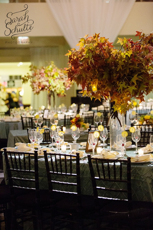 Wedding wednesday autumnal tones beautiful blooms