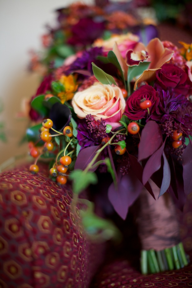 Wedding Wednesday Autumn Elegance Beautiful Blooms