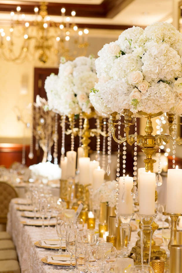 Wedding Wednesday Shimmering Winter White Beautiful Blooms