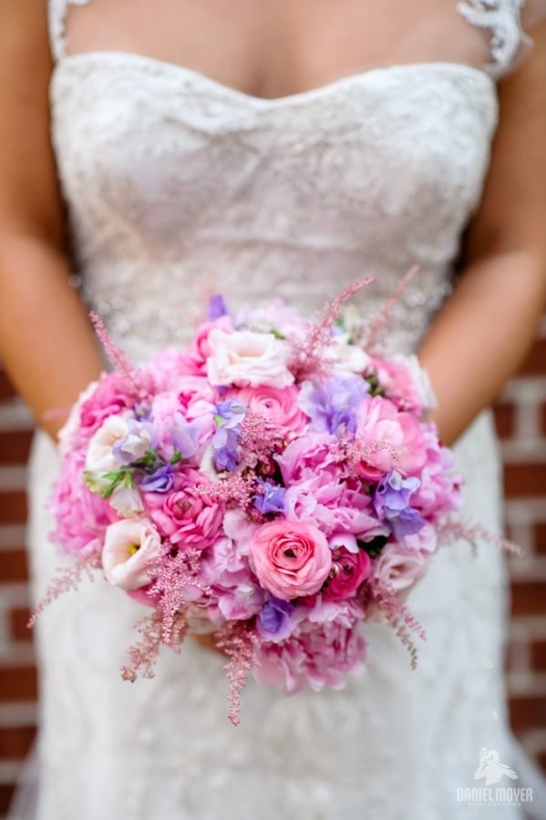 Wedding Wednesday: Pink Whimsy | Beautiful Blooms