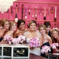 Beautiful Blooms Daniel Moyer Pink Bouquets Vie Wedding Ceremony and Reception Peonies Rancunculus Roses