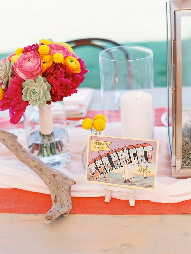 Beautiful Blooms Trent Bailey Photography Rock Paper Scissors Tented Congress Hall Wedding Candles Lanterns Driftwood