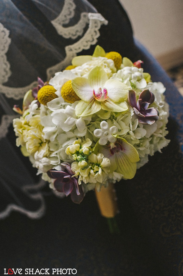 Beautiful Blooms Love Shack Photo Phalenopsis Orchids Brides Bouquet Yellow Flowers