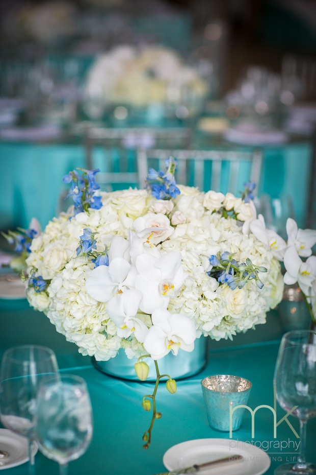 Friday Feature An Aqua And White Bat Mitzvah Beautiful
