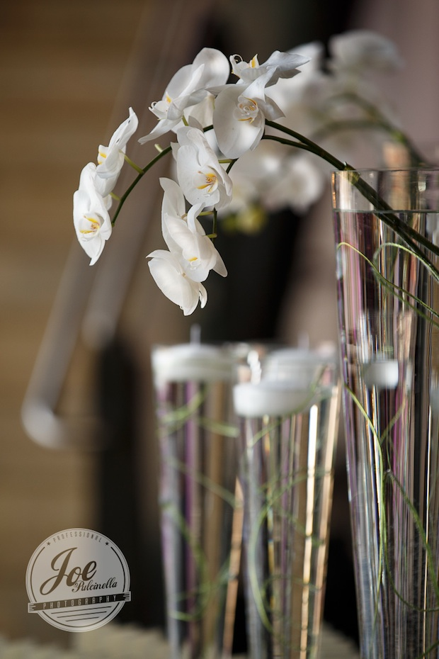 Beautiful Blooms Joe Pulcinella Photography Bar Mitzvah Phonexville Foundry Spun Wire Tall Centerpieces Leaping White Phalenopsis Orchids