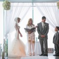 Beautiful Blooms One Atlantic Wedding Chuppah White Flowers Aisle Submerged Flowers Sparkle Aisle Runner MK Photo