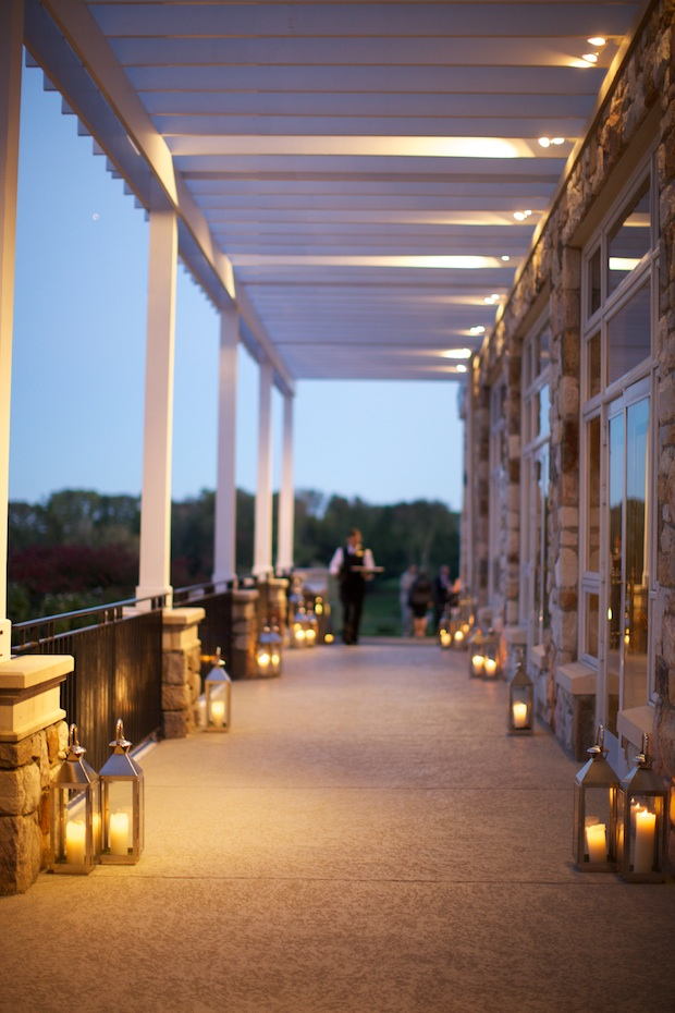 Beautiful Blooms Sarah Dicicco Lanterns Philadelphia Country Club Wedding