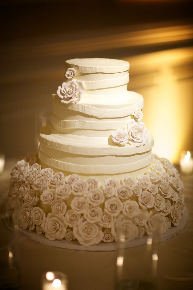 Beautiful Blooms Sarh DiCicco Philadelphia Country Club Cake Wedding