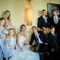 Beautiful Blooms Bridal Party Faith West XIX The Hyatt at the Bellevue Pastel Bouquets Boutonnieres