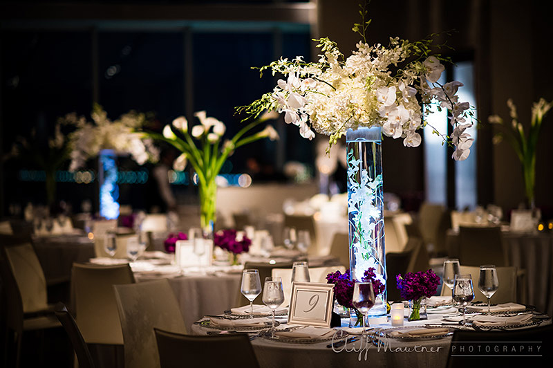 Wedding wednesday ocean elegance beautiful blooms