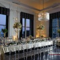 Beautiful Blooms Rebecca Barger Beke Beau The Down Town Club City Garden Park Greenery Garland Tall Centerpieces Babies Breath Low Centerpieces Ivy