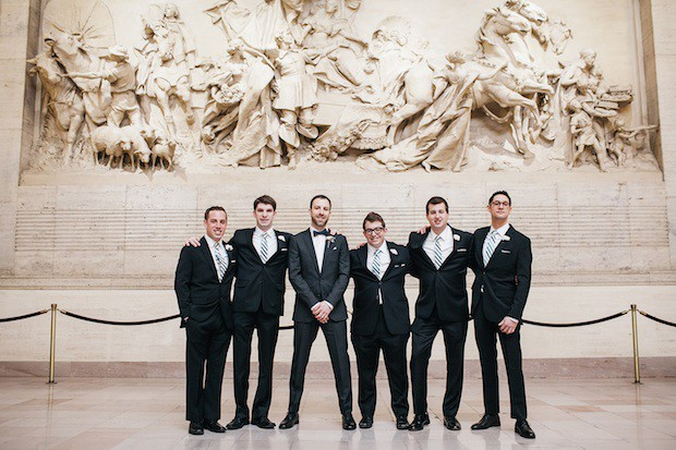 Beautiful Blooms Erin Wren Le Meredien Wedding 30th Street Station Groom Bridal Party Boutonnieres
