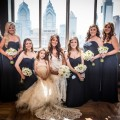 Beautiful Blooms Fairmount Photography Tendenza Wedding White Bouquet Bride Bridesmaids Peonies Anemones Stock Ranunculus Parrot Tulips