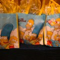 Beautiful Blooms Michael Branscom The Chop House NJ Bat Mitzvah Favor Bags The Simpons Give Away