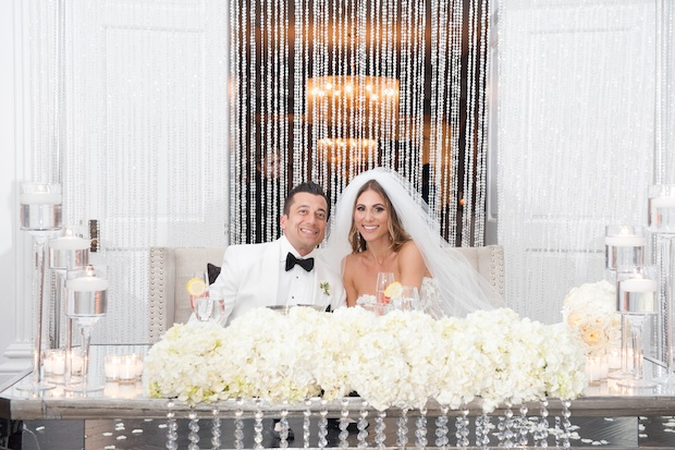 Down The Aisle Head Table Or Sweetheart Table: Wedding Wednesday: Shimmer, Shine & Sparkle