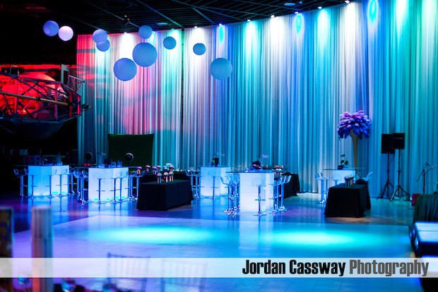Beautiful Blooms Jordan Cassway Fuge Provence Catering Light Up Tables Feathers Mardi Gras New Orleans B'Nai Mitzvah