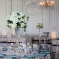 9 Beautiful Blooms Down Town Club Room Shot Champagne Emerald Green White Wedding copy