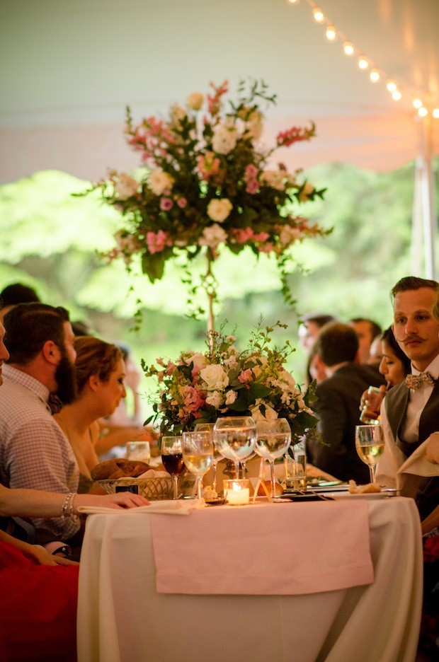Beautiful Blooms Ginger Fox Photography Tented Wedding Main Line Private Home