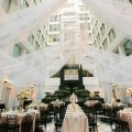 Beautiful Blooms Jessica Cooper Tall Centerpieces Candles Blush Green Ivory Gold chandeliers draping curtis center cescaphe event group