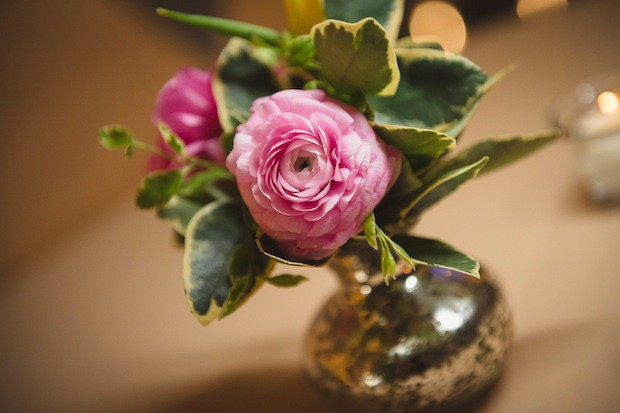 Beautiful Blooms Martin Reardon Bud Vase Pink Franklin Institute Wedding Ranunculus Spring
