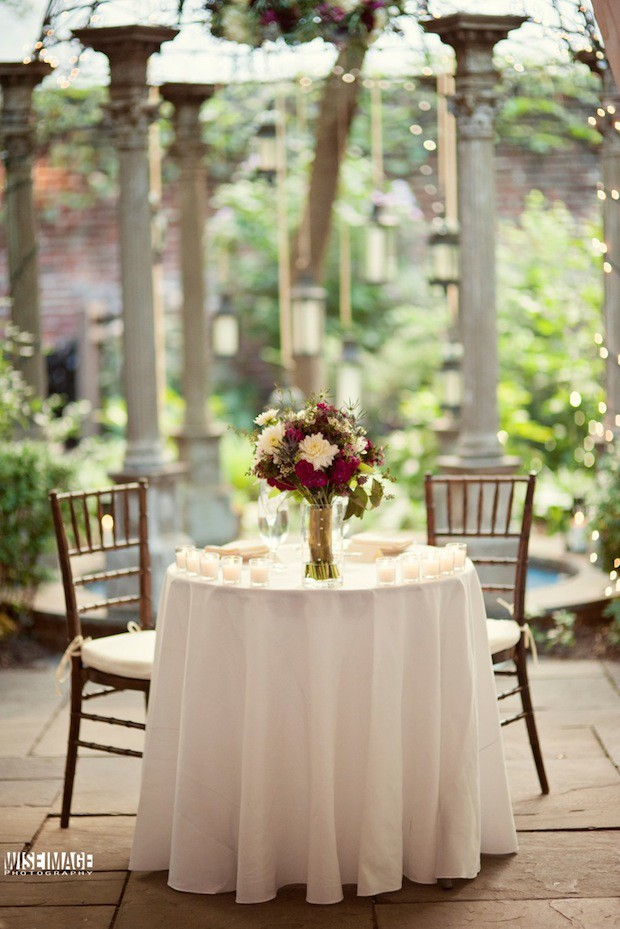 13 Beautiful Blooms Morris House Hotel Wedding Philadelphia Sweetheart Table Gazebo