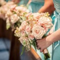 Beautiful Blooms Rachel Wassum Photography The Down Town Club Pink Bouquet Stock Roses Spray Roses Seeded Eucalyptus