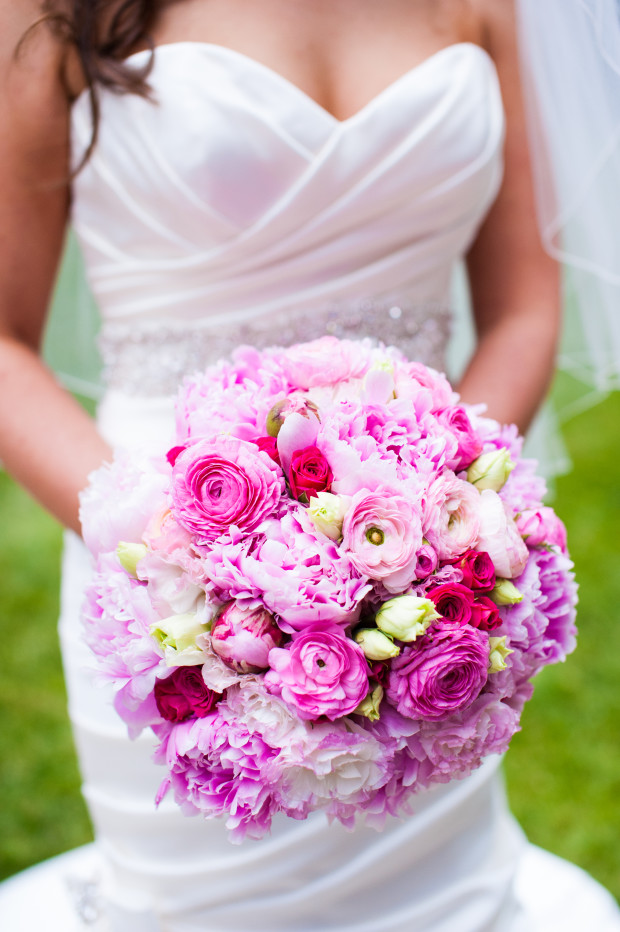 Beautiful Blooms Lorraine Daley Meadowlands Country Club Pink Bouquet Peonies Ranunculus Spray Roses