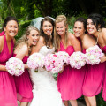 Beautiful Blooms Lorraine Daley Meadowlands Country Club Pink Bouquets Bride Bridesmaids Peonies Ranunculus Roses