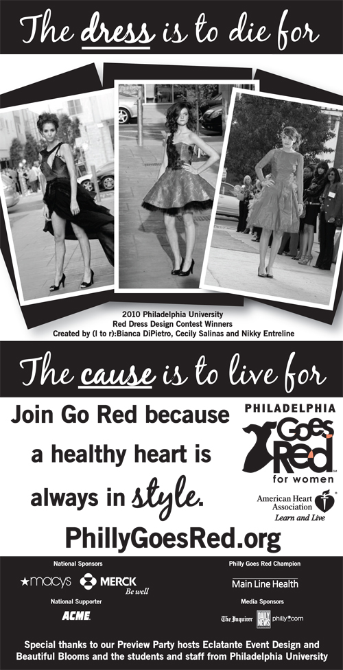 Red Dress design ad