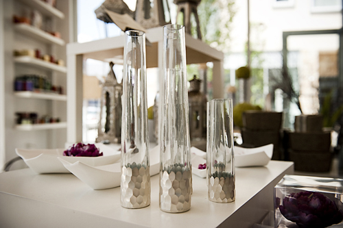 silver-vases